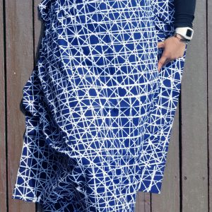 Silang white series – dark blue