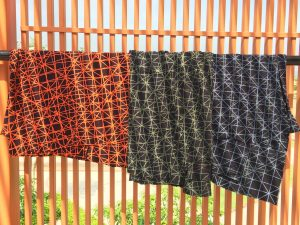 Silang twotones in orange and black